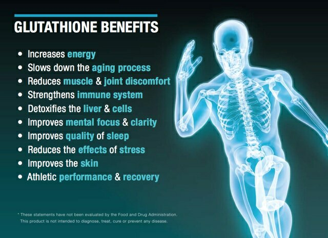 Glutathione – the mother of all antioxidants