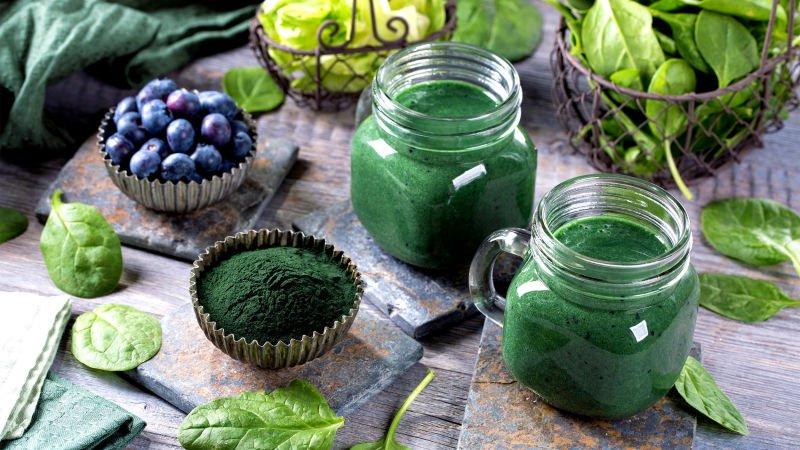 Chlorophyll schützt Ihre Gesundheit