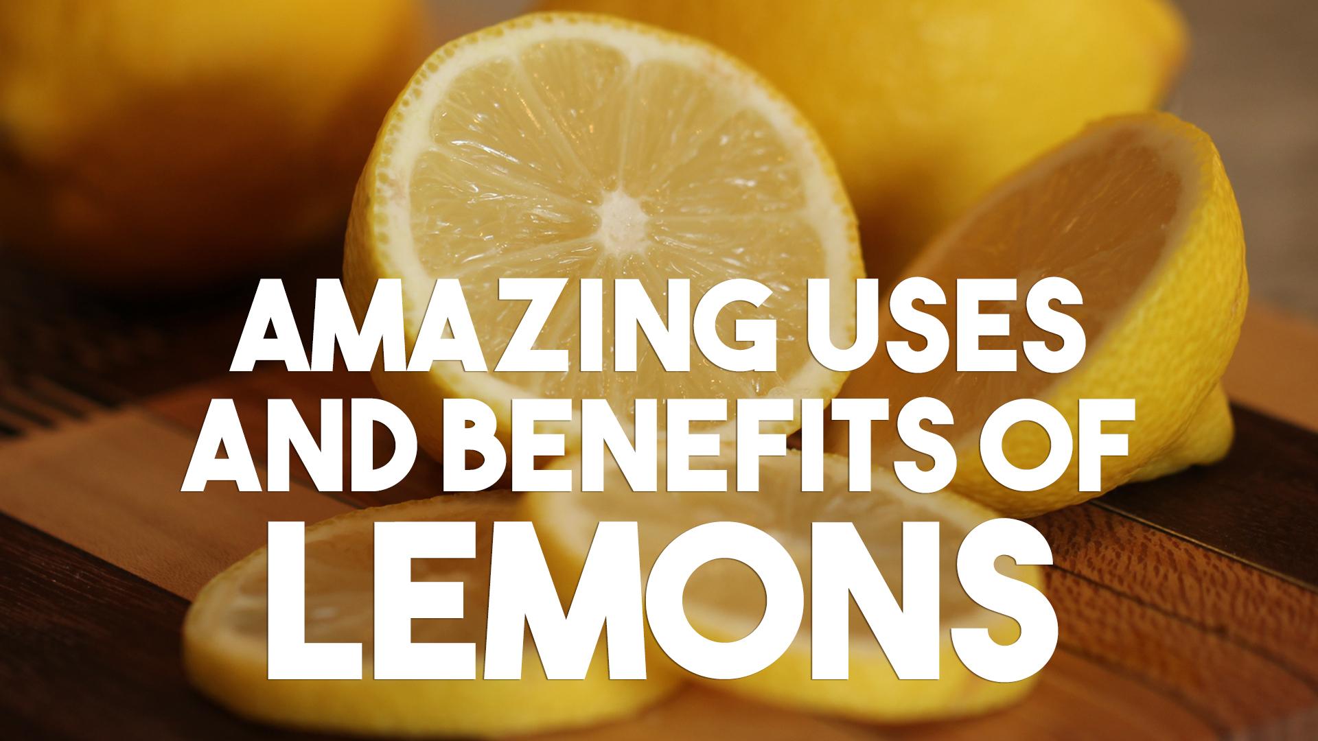 ★ Amazing Uses And Benefits Of Lemons ★